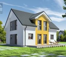 Point 127.10 – dom półtorakondygnacyjny