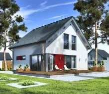 Point 127.4 – dom półtorakondygnacyjny