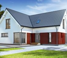Point 206 – dom półtorakondygnacyjny