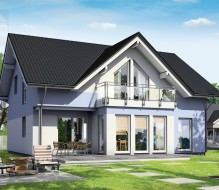 Point 184 – dom półtorakondygnacyjny